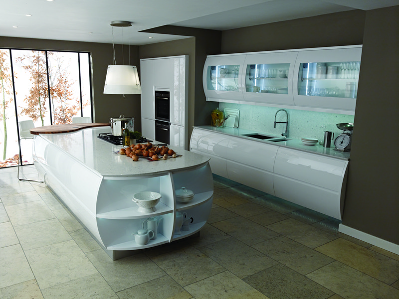 Remo Gloss White High Gloss Kitchens At Discount Prices
